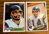 Dan Fouts 1981 #265 and 1984 #179 - Chargers
