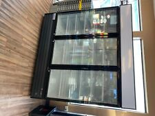 Omcan Re-cn-0052 3-door 52cf Commercial Glass Display Refrigerator Cooler