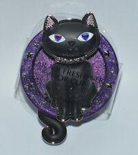 BATH & BODY WORKS BLACK CAT PURPLE SCENTPORTABLE HOLDER VISOR CLIP CAR FRESHENER