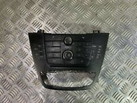VAUXHALL INSIGNIA HEATER STEREO SAT DVD 800 NAVI CONTROL SWITCH PANEL Screen Sur