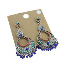 New Bead Chandelier Drop Dangle Earrings Gift Vintage Lady Party Holiday Jewelry