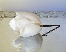 Magnolia WHITE BUD - Edible Sugar Flowers - Gumpaste - ChappCakes Decor