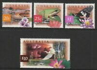 Australia 1997 : Nature of Australia - Wetlands ( 4 Stamps ) Mint Never Hinged.