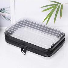 Waterproof transparent toiletry bag,PC cosmetic bag