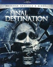 Blu Ray FINAL DESTINATION  (2D+3D) (Blu-Ray+Dvd+4 Occhialini) .....NUOVO