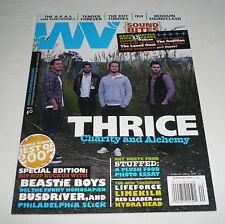 WONKAVISION #40 w/CD ~ Thrice, Beastie Boys, Lifeforce, Bedouin Soundclash