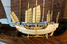 China wooden sail boat ZHENG Hes Treasure-ship modelmodel kit