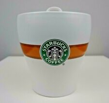 "Starbucks Mermaid Ceramic Coffee Jar 7"" Container Canister Jar Lid Bean"