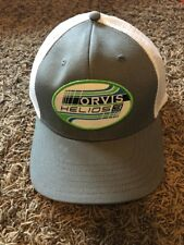 Orvis Helios 3 Fly Fishing Ball Cap Hat with Mesh Back - adjustable snapback NEW
