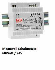 Meanwell Schaltnetzteil DR-60-24 Netzteil 24V 60W Hutschiene Din-Rail