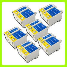 12 ink Cartridges Replace for Epson Stylus C44 C44+ C44UX C46 C42 Printer