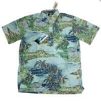 Reyn Spooner Mens Hawaiian Shirt Size Small S Diamond Head RS Classic Fit New