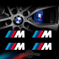 4 Adesivi pinze freni M PERFORMANCE BMW stickers TUNING serie1-2-3-4-5-6-7 POWER