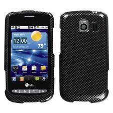 Carbon Fiber Hard Case Snap on Cover LG Vortex VS660