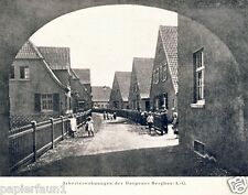 Harpen Bergbau XL Reklame & Historie 1925 Dortmund Kohle Werbung Harpener ad