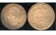 ITALIE  ITALY   10 centesimi  1866 M  (1)