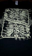 HRC Black King Card PokerT-Shirt by High Roller Clothing