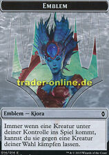 Spielstein - Emblem Kiora (Token - Emblem Kiora) Battle for Zendikar Magic