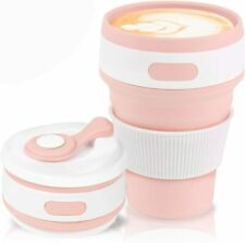 Collapsible Coffee Cup Folding Cup Eco Friendly Silicone Cup Portable Cup Reusab