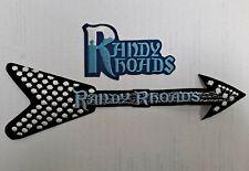 RANDY RHOADS Ozzy Osbourne VINTAGE PATCHES Very RARE Polka Dot Flying V Guitar