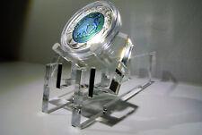 Münzständer aus Acrylglas Münze Sammlung Coin Gold Silber NIOB Euro Aufsteller