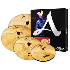 "Zildjian A20579-11 Cymbal (4) Pack 20"" Ride 16"" & 18"" Crash 14"" Hi Hats - Used"