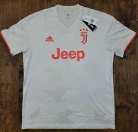 $90 adidas authentic Juventus Away Jersey 2020 Camo White Men's Size XL NEW !