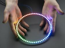 Adafruit NeoPixel 1/4 60 Ring - 5050 RGB LED w/ Integrated Drivers [ADA1768]