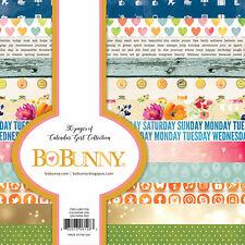 Bo Bunny Calendar Girl 6 x 6 Paper Pad scrapbook BoBunny new 6x6
