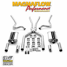 "MAGNAFLOW 15815 2.5"" CAT BACK DUAL EXHAUST KIT 64-66 FORD MUSTANG 4.7L"