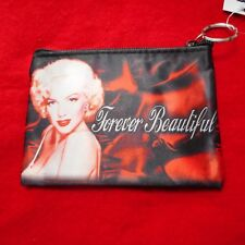 """NEW """"Forever Beautiful"""" MARILYN MONROE Large Coin Purse"""