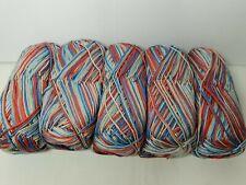 500 gm Sirdar 100% Cotton Prints DOUBLE KNIT WOOL YARN Job lot #63