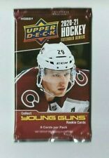2020-21 UD EXTENDED Series Upper Deck Hockey 1 Pack HOBBY  8 Cards per Pack