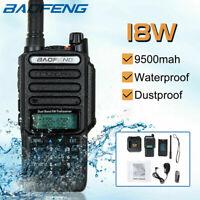 Baofeng UV9R-PLUS Walkie Talkie UHF VHF Sprechfunkgeräte Handfunkgerät 18W DE