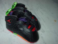 "2015 Nike Air Jordan Retro 7 ""Marvin the Martian"" Crib Shoes! Size 2C"