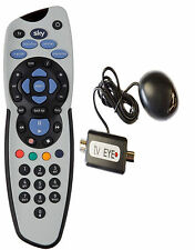 Black Tv Magic Eye/TV LINK with SKY + PLUS REMOTE CONTROL GENUINE REPLACEMENT
