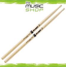 Set of Promark Shira Kashi Oak 2B Drumsticks with Oval Wood Tips - PW2BW