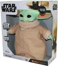 The Child Life Sized 32cm Talking Plush Baby Yoda Mandalorian Star Wars