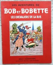 Bob et Bobette Les Chevaliers de la rue EO 1957 TTBE Vandersteen