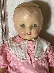 Vintage Composition Baby Doll  In Need of TLC