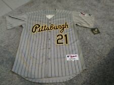 28030ea9d Roberto Clemente Jersey.  21 Pittsburgh Pirates Size 52 XXL Grey Pinstripe  NWT