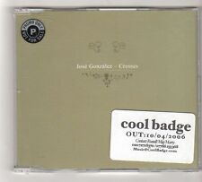 (FZ835) Jose Gonzalez, Crosses - 2006 DJ CD