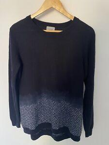 Jigsaw 100% Wool Jumper Size L