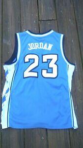 Michael Jordan North Carolina Size 44 SEWN  basketball jersey by Nike