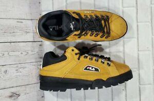 FILA Trailblazer Tan Suede Rave Hiking Boots 1SH40280-603 MENS SIZE 9.5