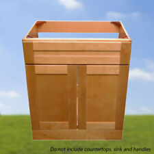 "Bathroom Vanity Maple Shaker Drawer 30"" W x 21"" D Single sink"