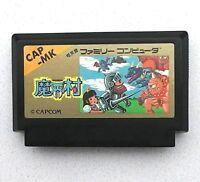 (Free Shipping) Ghosts'n Goblins Makaimura Nintendo AV/New Famicom NES FC Japan