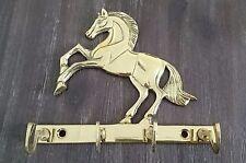 Elegantes Pferd Wanddekoration Mantel Haken Schlüsselaufhänger Hut Kleiderleiste