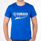 Genuine Yamaha Racing Extreme Superbike Motorcycle Bike SBK Blue Men Tee T-Shirt