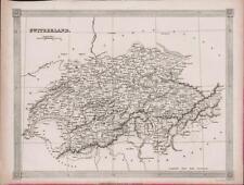 c.1841. SWITZERLAND. Map.  Alexander Findlay   DB61